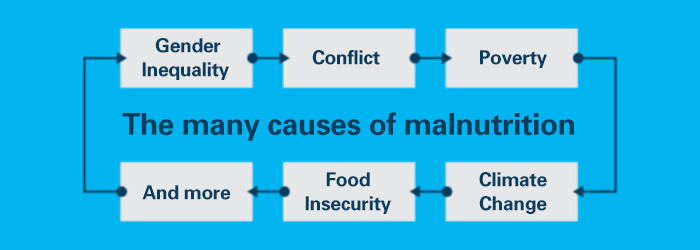 The many causes of malnutrition