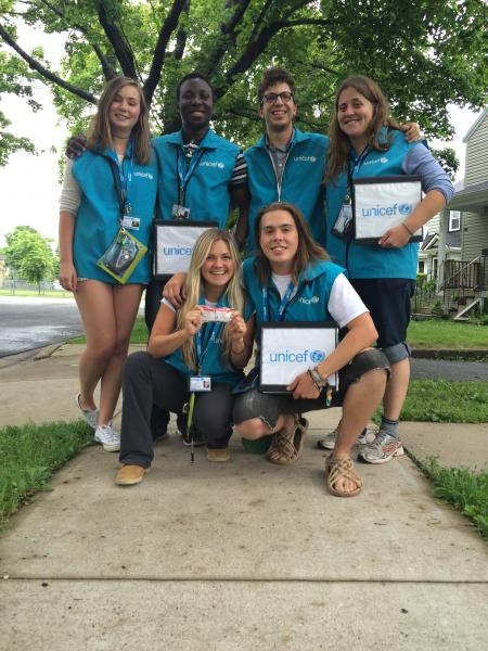 UNICEF Canada Canvassers