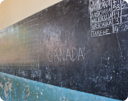 What does Canada mean to Tanzanians?