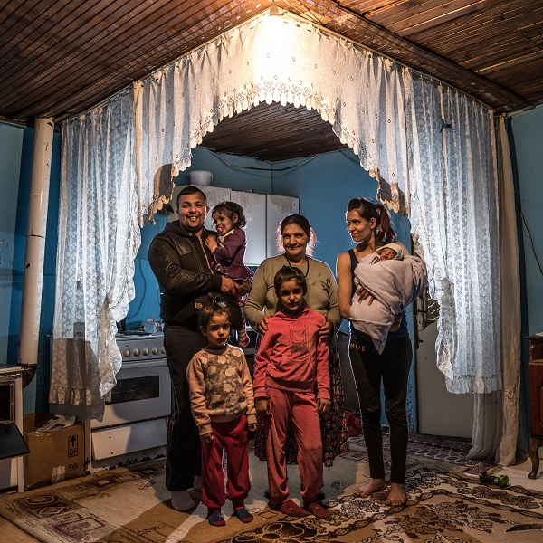 Marginalized communities, like the Roma in Central and Eastern Europe, have a harder time accessing health services.