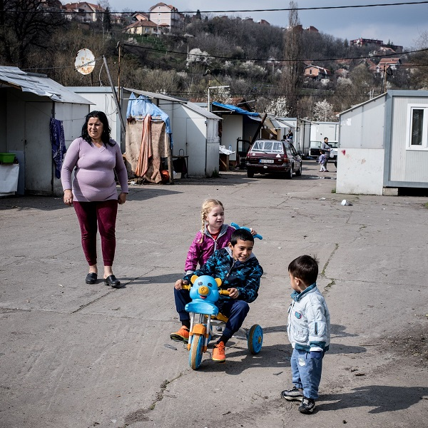 Fortunately, Sonja Selimović and her two young children benefit from Serbia's Roma Health Mediators programme