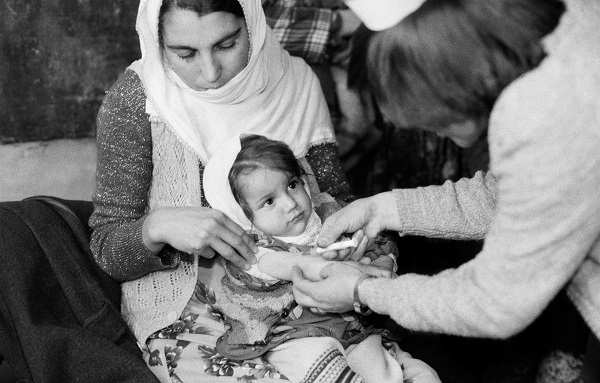 From 1980 to 1995, UNICEF helped save an estimated 25 million lives with vaccinations.