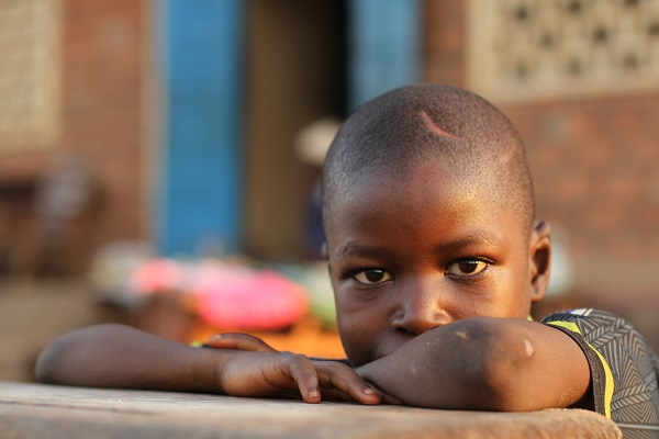 Adamou and his brother were displaced by violence in Central African Republic