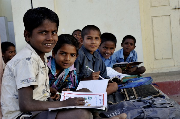 Children who were forced into child labour now have access to an education.