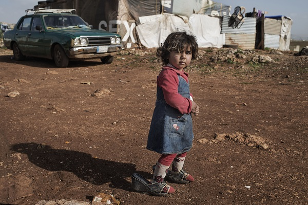 Aya fled the war in Syria for safety in Lebanon
