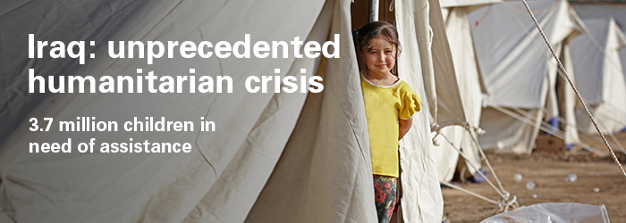 Crisis in Iraq affects many children