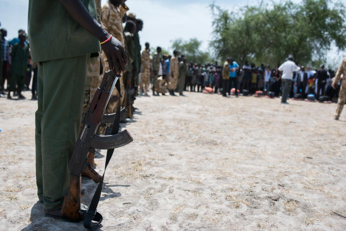 Child soldiers released in South Sudan