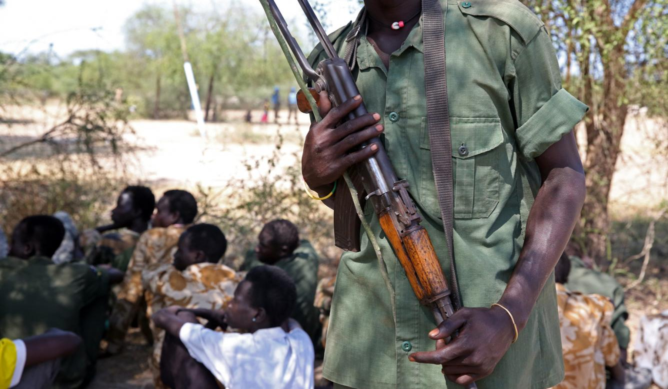 145 children were released by armed groups in South Sudan