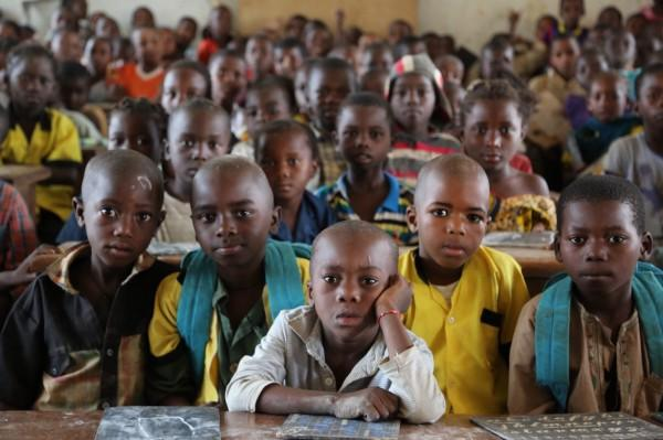 More than 200 pupils in a single classroom is not an unusual image in Eastern Cameroon.