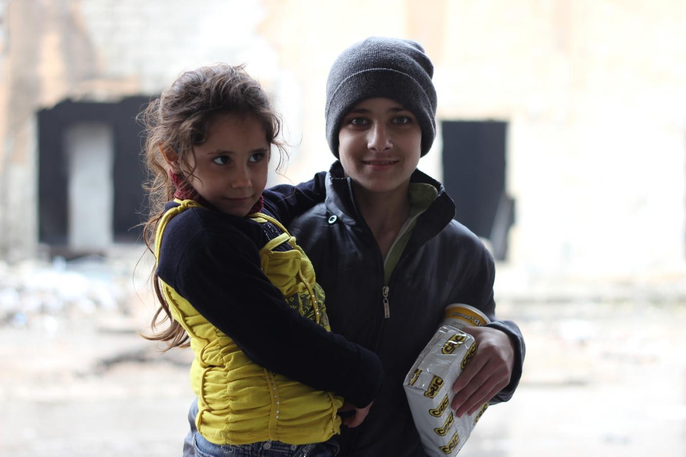 Children in Syria at risk from the winter