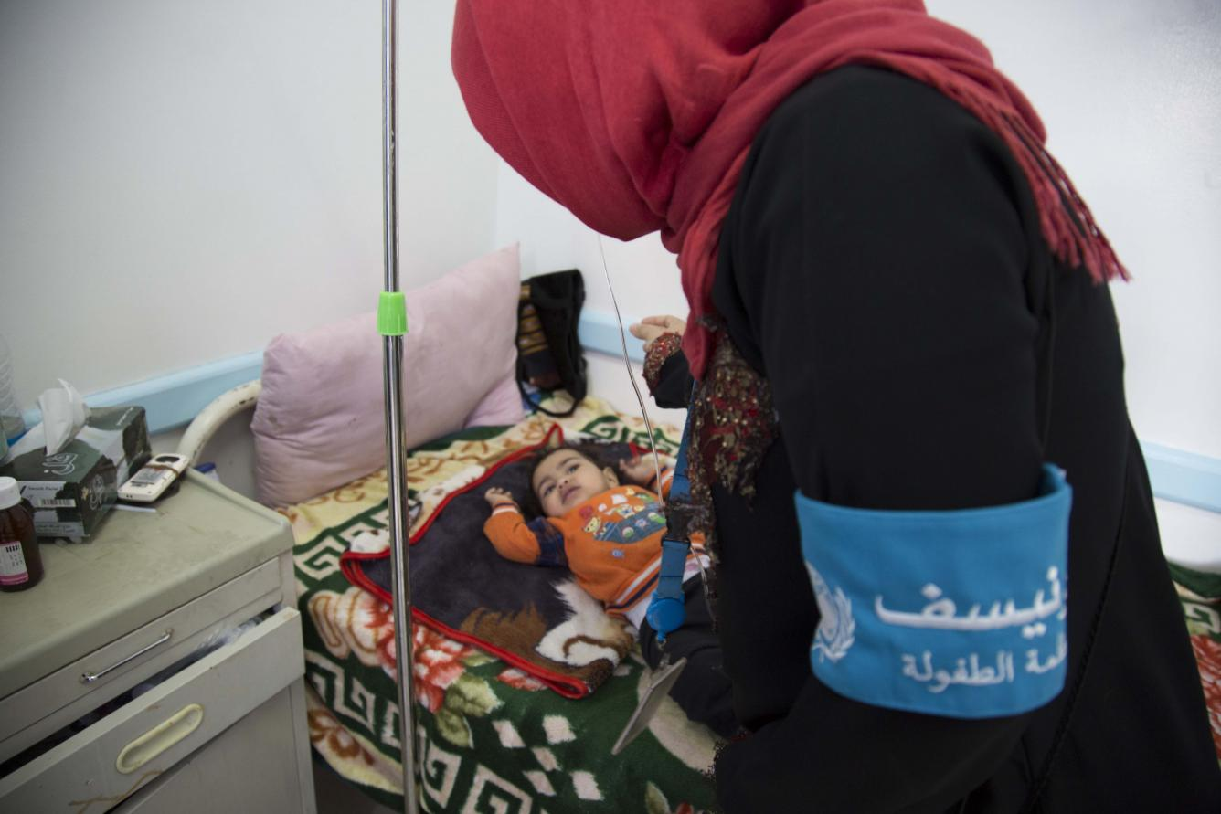 UNICEF is on the ground in Yemen