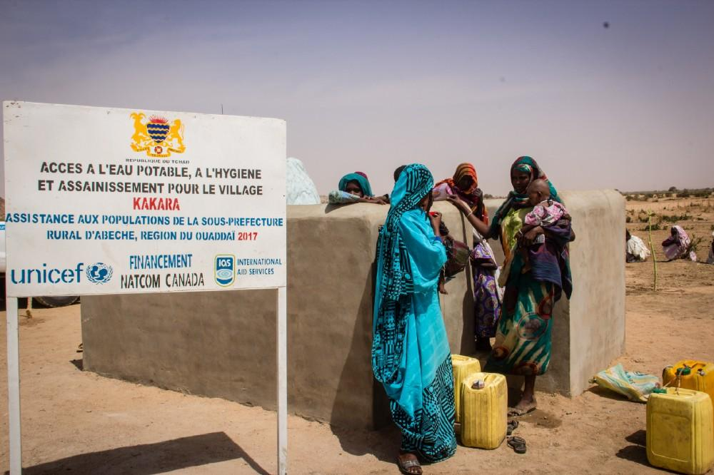 UNICEF supports safe water in Chad