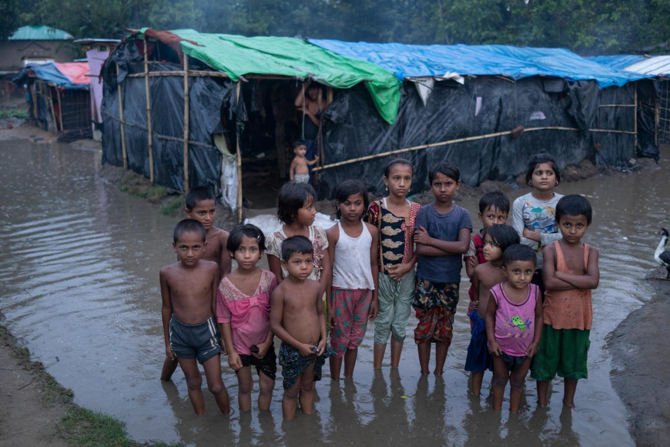 Children in Cox's Bazar